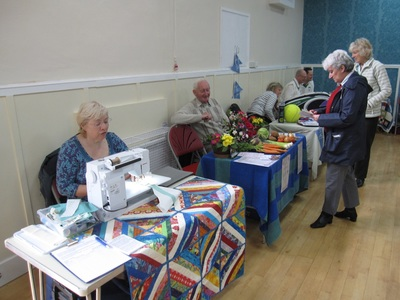 Quilters, Garden Club and Tennis Club