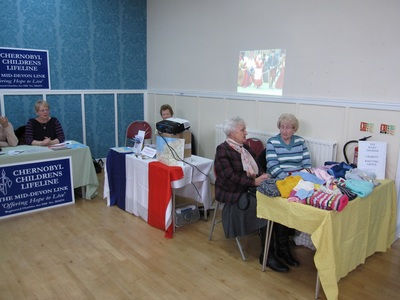 Knitters, Twinning Society, and Chernobyl Children's Lifeline